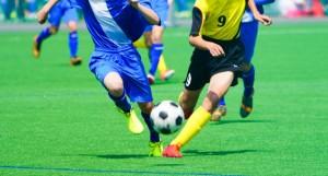 機能アップトレーニングサッカー写真