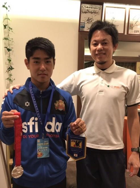 U-14サッカー日本代表  前里裕希