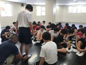 【出張インソール】那覇高校女子バレー部